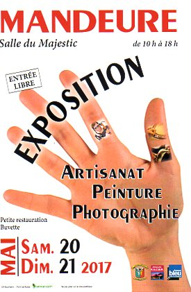 EXPO ARTISTES ET ARTISANS 20-21 MAI 2017
